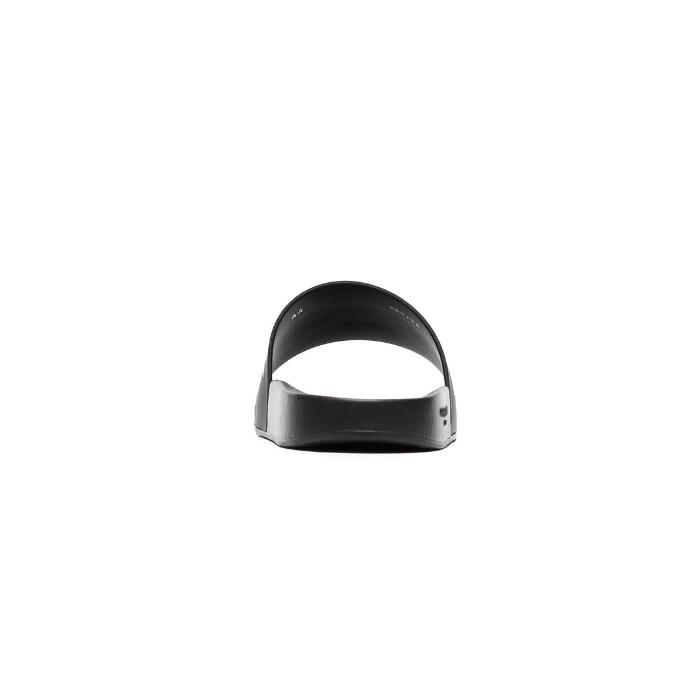 Givenchy Unisex Slippers Met Logo - Zwart/Wit