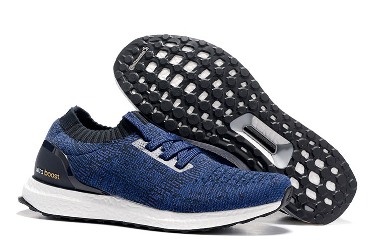Adidas Ultra Boost Uncaged Heren Sneakers – Donkerblauw/Zwart