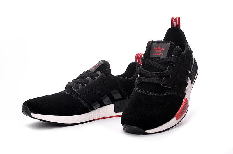 Adidas NMD Unisex Sneakers - Zwart/Wit/Rood
