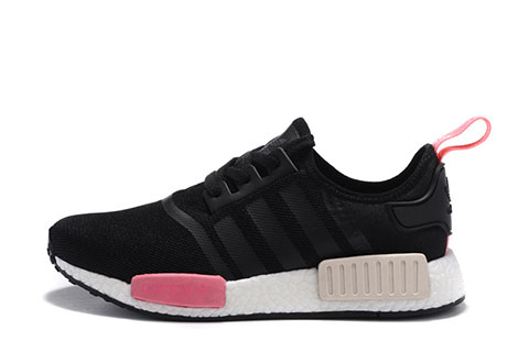 Adidas NMD Dames Sneakers – Zwart/Wit/Roze