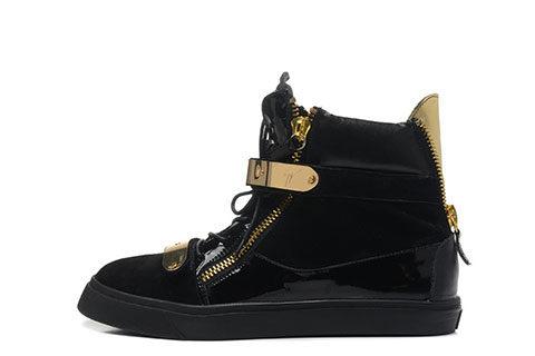 Giuseppe Zanotti Heren Sneakers - Zwart/Goud