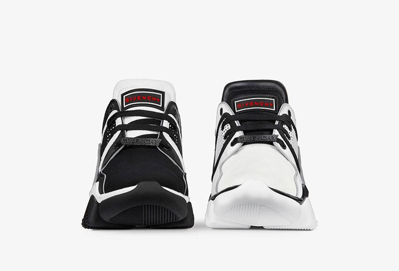 Givenchy Paris jam low sneakers zwart/wit -1