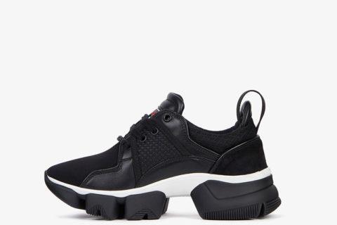 Givenchy Paris jam low sneakers zwart/wit