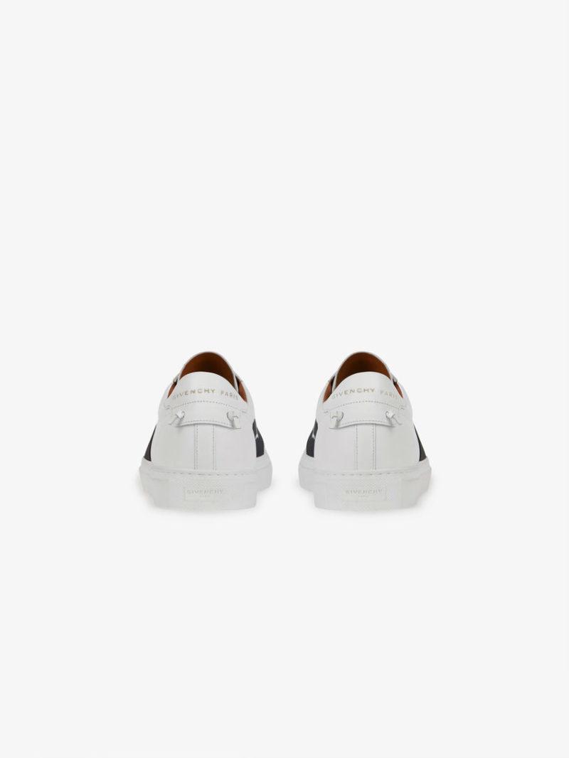 Givenchy Paris Strap Unisex Sneakers - Wit/Zwart