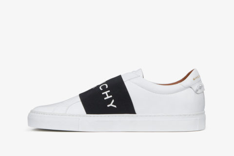 Givenchy Paris Strap Unisex Sneakers - Wit/Zwart