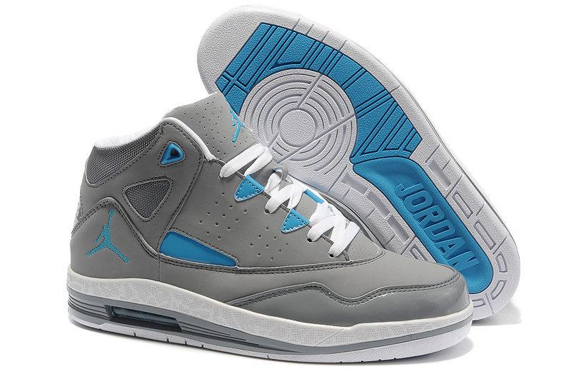 Nike Air Jordan Jumpman H-Series 2 Heren Sneakers - Grijs/Wit/Blauw