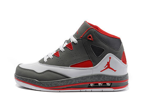 Nike Air Jordan Jumpman H-Series 2 Heren Sneakers - Grijs/Rood/Wit