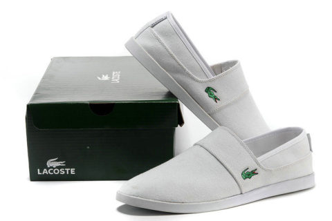 Lacoste casual heren instappers Wit