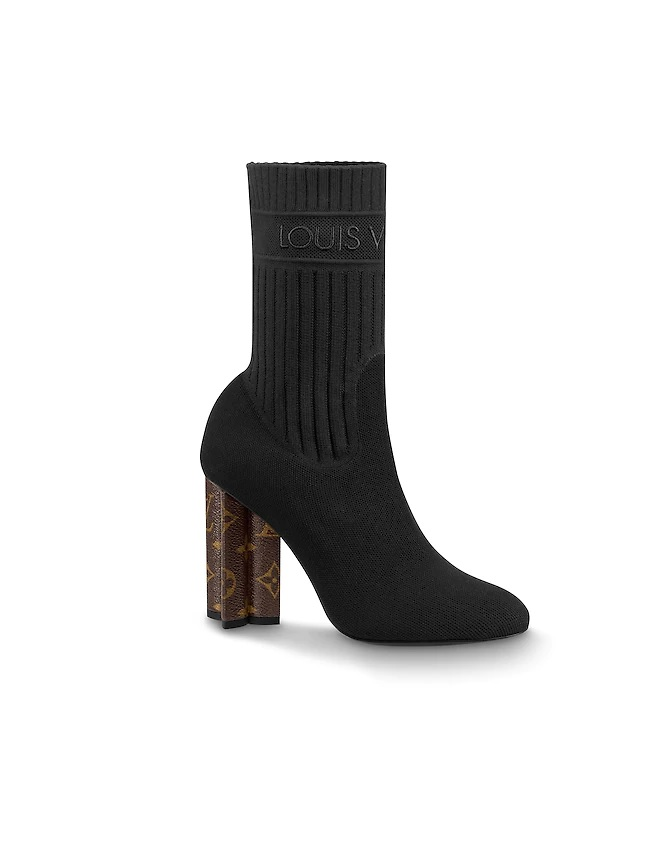 Louis Vuitton Silhouette Dames Laarzen ZwartBruin