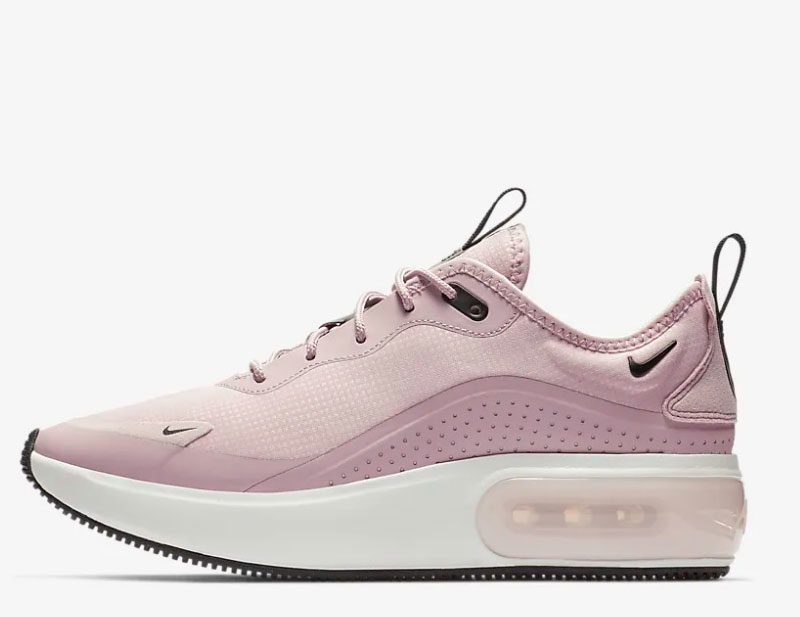 Nike air max dia dames sneakers roze/wit