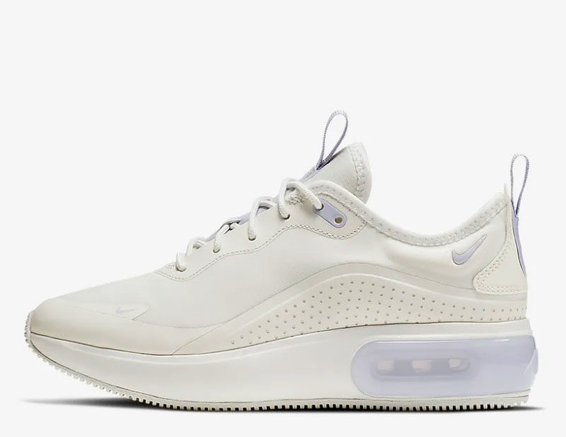 Nike air max dia dames sneakers wit