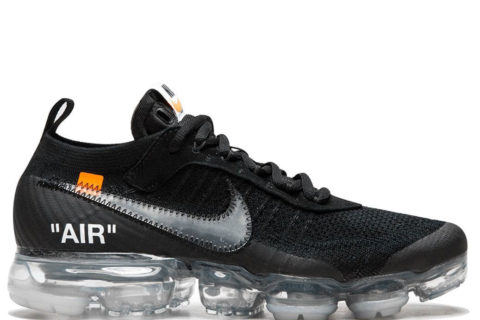 Nike x Off-White The 10: Air Vapormax FK zwart/wit
