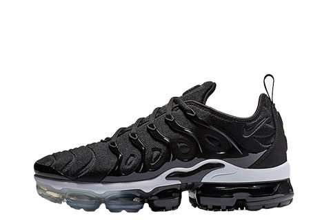 Nike Air Vapormax Plus Unisex Sneakers - Zwart/Wit