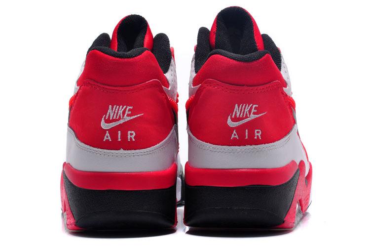 Nike Air Force 180 Heren Sneakers – Rood/Wit/Zwart