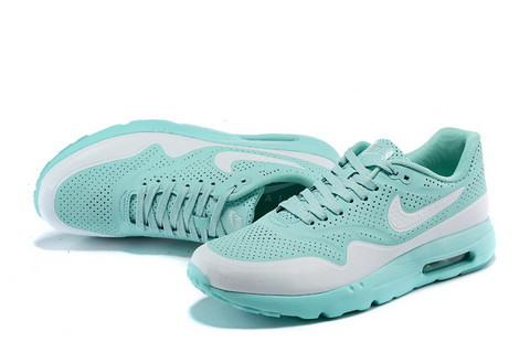 Nike Airmax One Ultra Essential Unisex Sneakers - Blauw/Wit