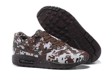 Nike Airmax One Ultra Essential Unisex Sneakers - Bruin/Grijs/Zwart