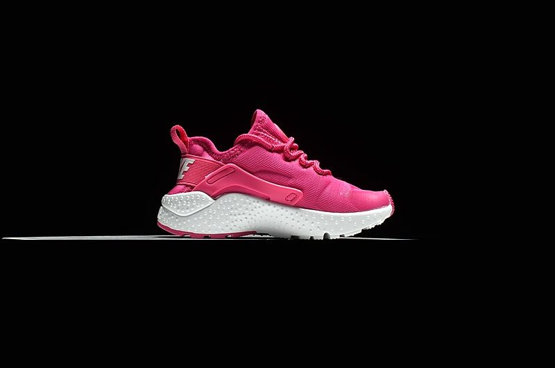Nike Air Huarache Ultra Kinder Sneakers - Roze/Wit
