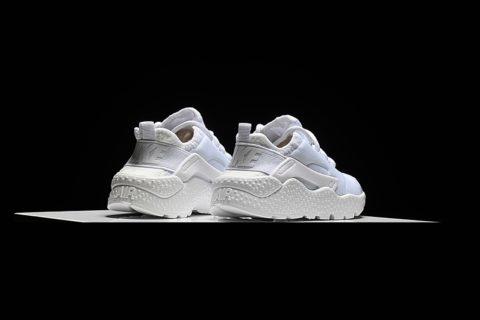 Nike Air Huarache Ultra Kinder Sneakers - Wit