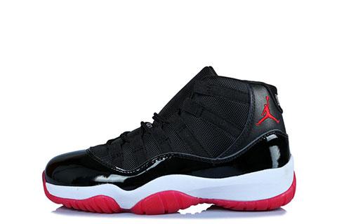 Nike Air Jordan 11 Retro Unisex Sneakers – Zwart/Wit/Rood
