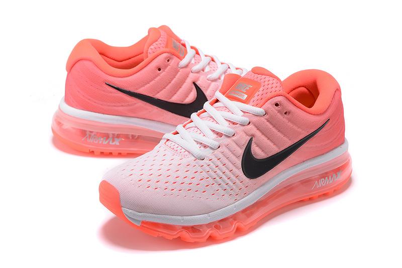Nike Airmax Running Dames Sneakers 2017- Roze/Oranje/Wit