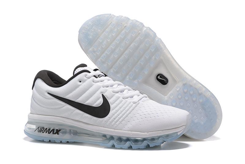 Nike Airmax Running Heren Sneakers 2017 – Wit/Zwart