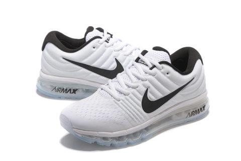 Nike Airmax Running Heren Sneakers 2017 - Wit/Zwart