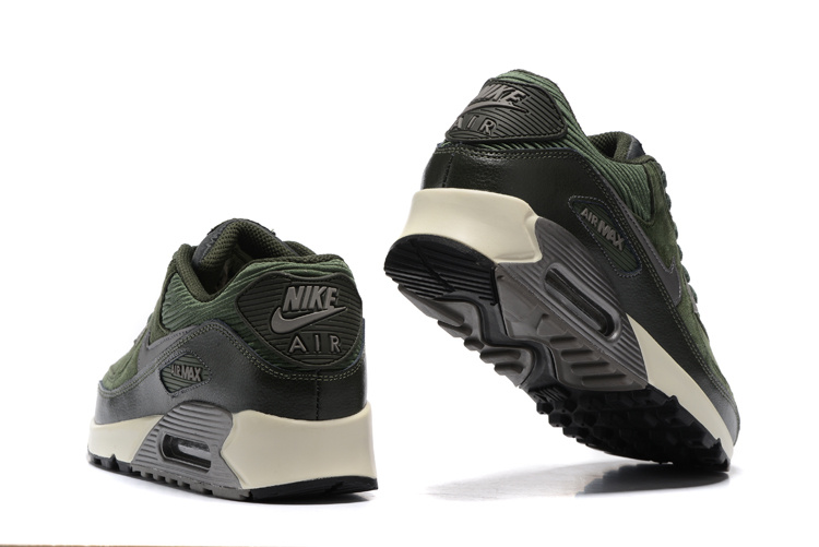 Nike Air Max 90 Winter Premium Sneakers – Groen/Zwart/Grijs