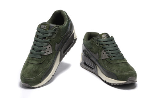 Nike Air Max 90 Winter Premium Sneakers - Groen/Zwart/Grijs
