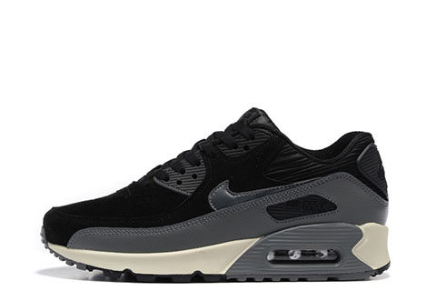 Nike Air Max 90 Winter Premium Heren Sneakers - Zwart/Grijs/Wit
