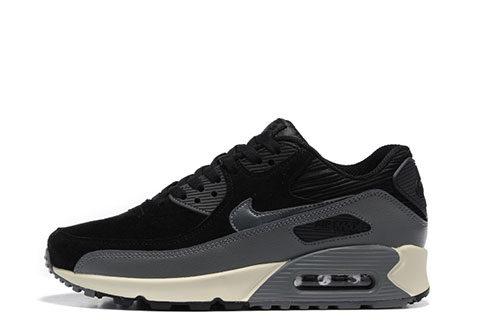 Nike Air Max 90 Winter Premium Heren Sneakers - Zwart/Grijs/Wit