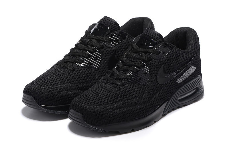 Nike Airmax 90 Ultra Pure Platinum Unisex Sneakers - Zwart