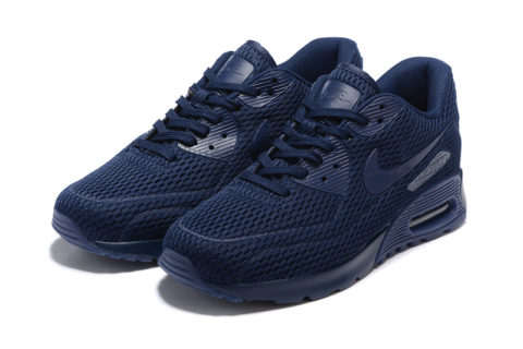 Nike Airmax 90 Ultra Pure Platinum Unisex Sneakers - Donkerblauw