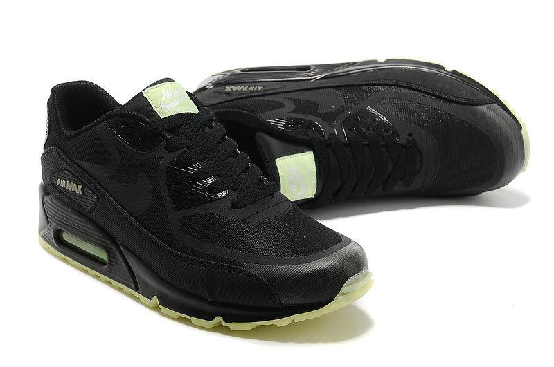 Nike Airmax 90 Premium BR Unisex Sneakers - Zwart