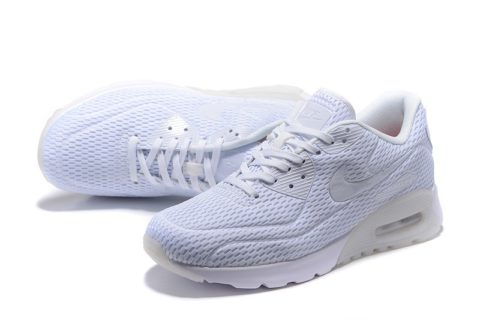 Nike Airmax 90 Ultra Pure Platinum Unisex Sneakers- Wit
