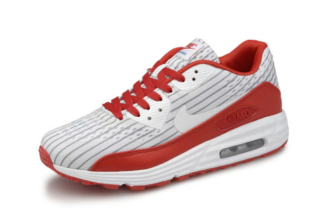 Nike Airmax 90 Premium Rood/Wit