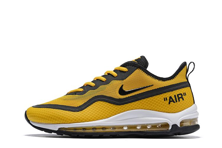 Nike Air Max 97 SE Heren Sneakers – Geel/Zwart