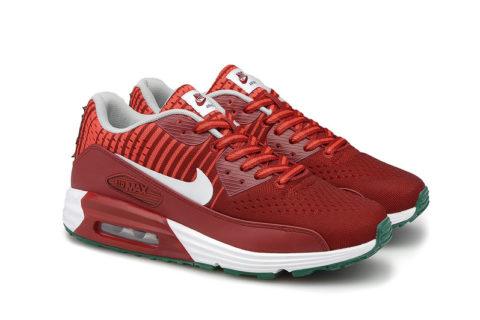 Nike Airmax 90 Premium Rood/Oranje