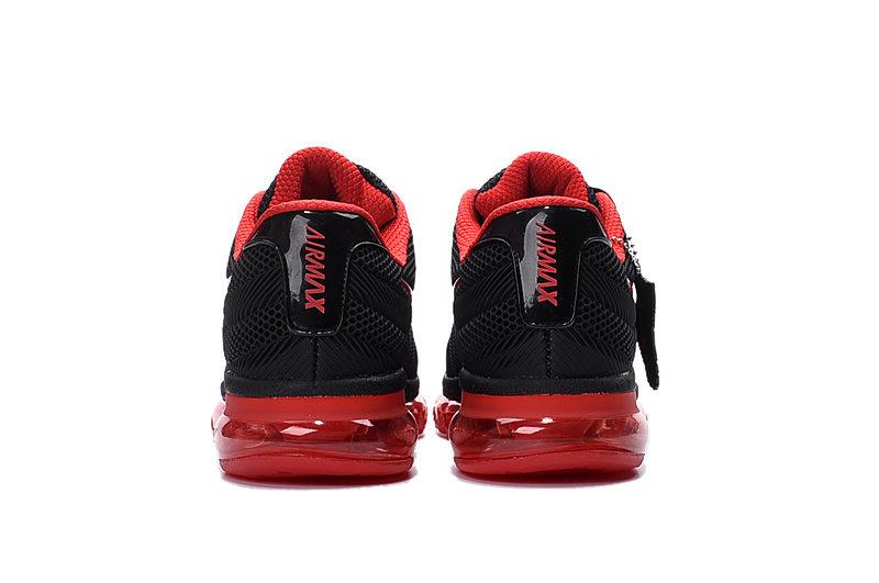 Nike Airmax Running Unisex Sneakers 2017 - Rood/Zwart