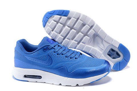 Nike Airmax One Ultra Essential Unisex Sneakers - Blauw/Wit -02