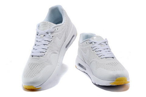 Nike Airmax One Ultra Essential Unisex Sneakers - Wit