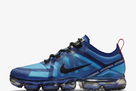 Nike Air VaporMax 2019 heren sneakers - blauw