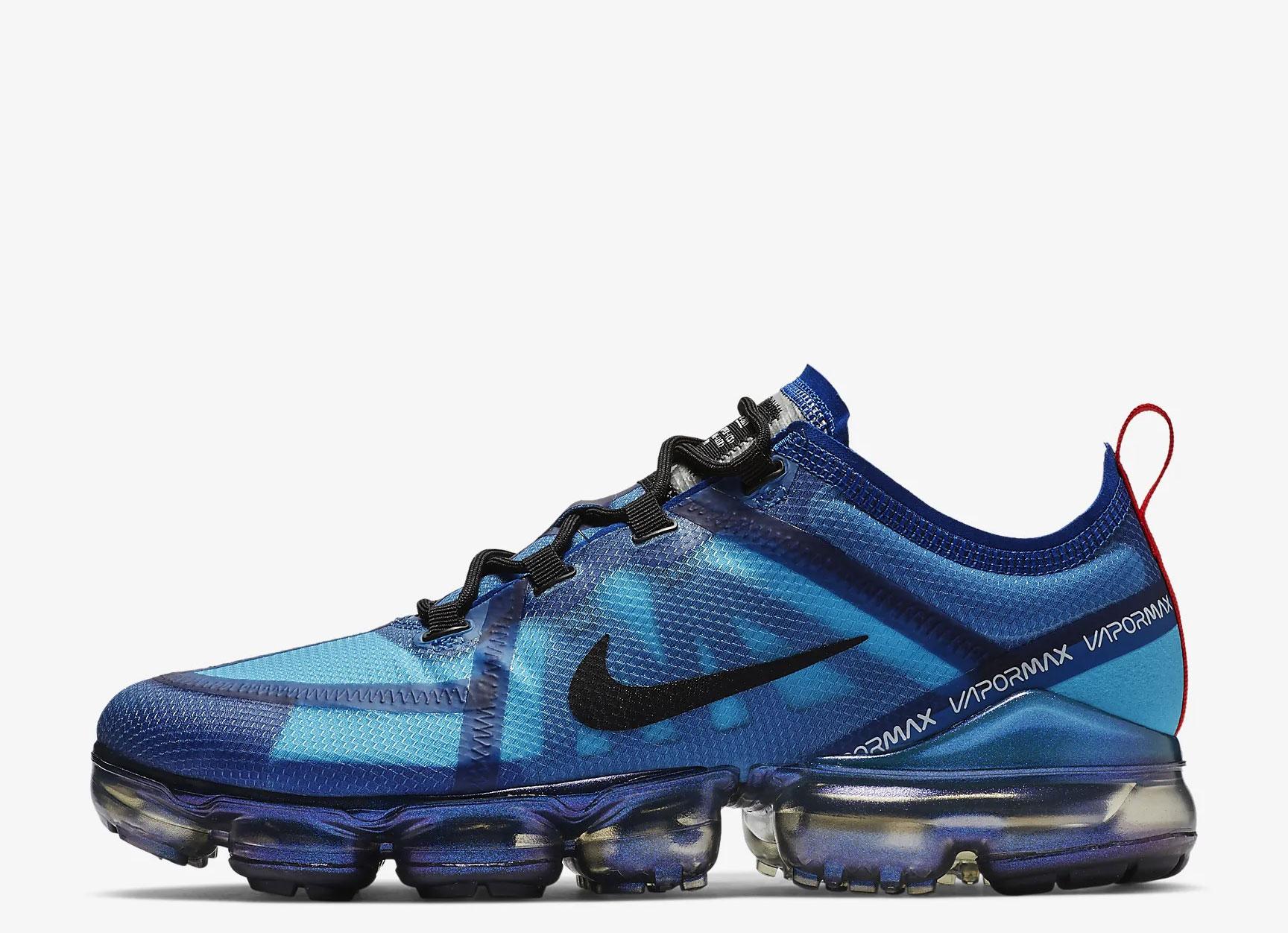 Nike Air VaporMax 2019 heren sneakers – blauw