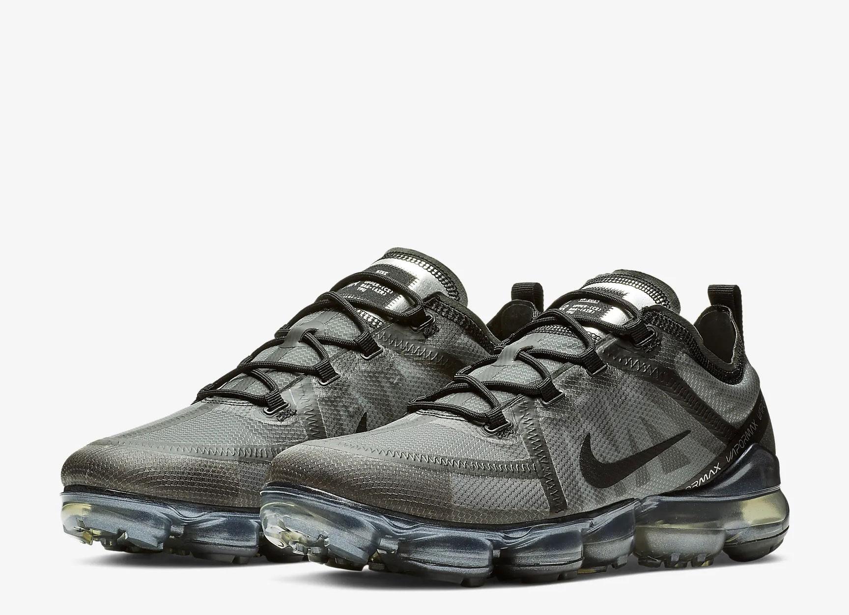 Nike Air VaporMax 2019 heren sneakers donkergrijs
