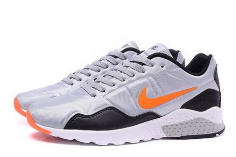 Nike Air Zoom Pegasus 92 Heren Sneakers - Grijs/Oranje/Zwart