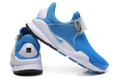 Nike Sock Dart Heren Sneakers - Blauw/Wit