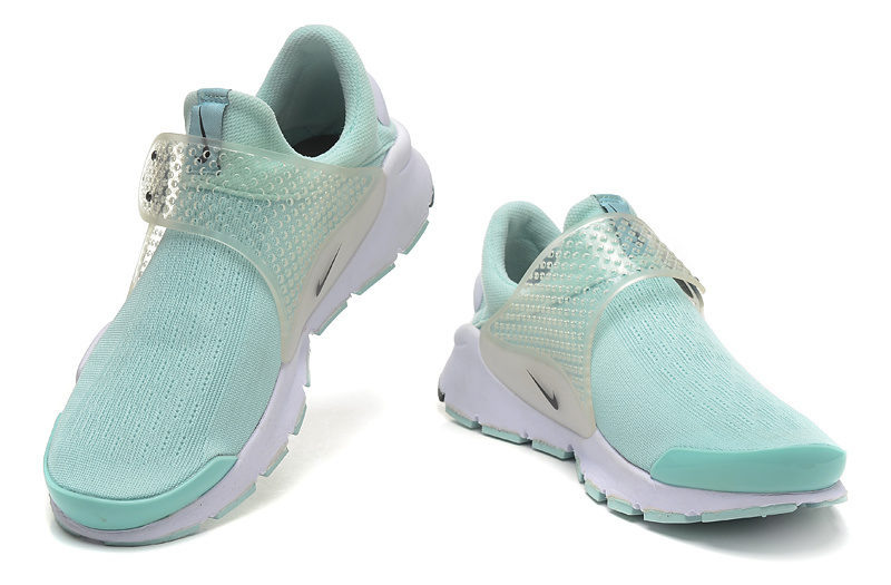 Nike Sock Dart Dames Sneakers - Blauw/Wit