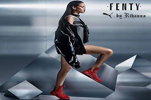 Puma Fenty The Trainer By Rihanna Rood
