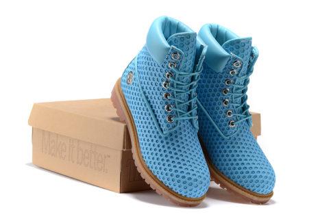 Timberland Exclusieve Dames Laarzen - Blauw
