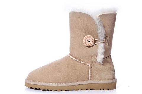 UGG Australia ® Bailey Button Dames Laarzen - Beige