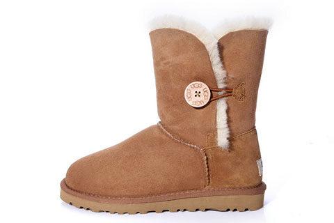 UGG Australia ® Bailey Button Dames Laarzen - Chestnut